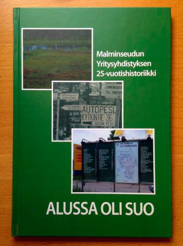 Malminseudun Yritysyhdistys 25-vuotishistoriikki