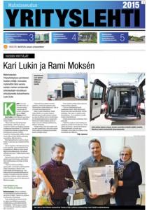 Malminseudun Yrityslehti 2015