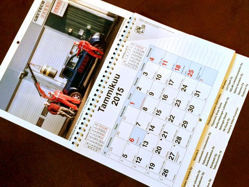 Malminseudun yritysyhdistys kalenteri 2016