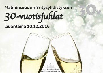 Malminseudun Yritysyhdistys 30-vuotisjuhlat