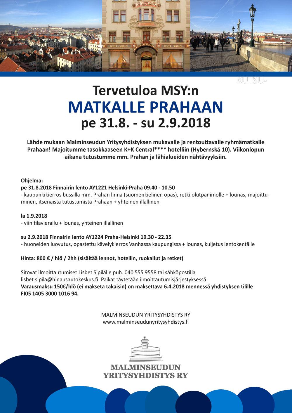 MSY Praha 31.8.-2.9.2018