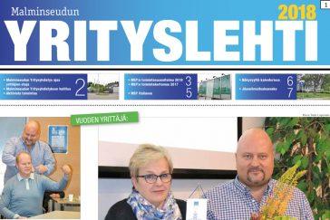 Malminseudun Yrityslehti 2018