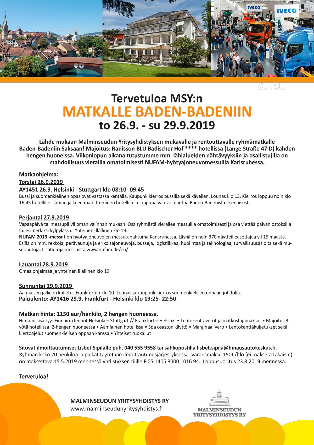 MSY Baden-Baden 2019