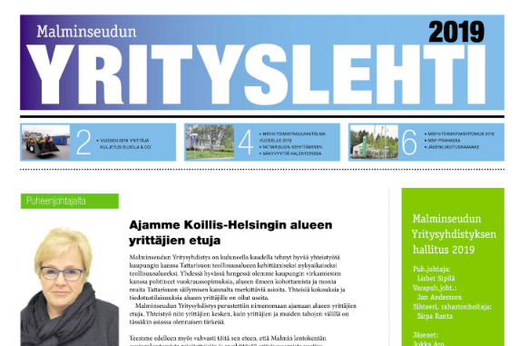 Malminseudun Yrityslehti 2019